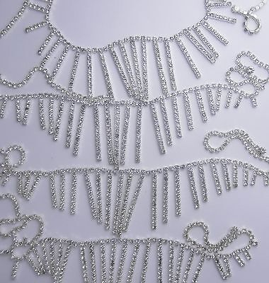 Several Pieces Of Rhinestone Jewelry Needs Repair.*  Lot G10