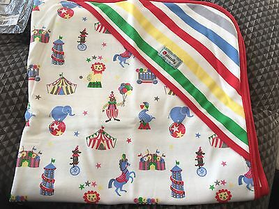 Piccalilly Organic Cotton Girls Boys Unisex Shawl Blanket New Circus Baby Gift
