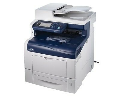 Xerox WorkCentre 6605/DN Color Laser Printer Copier Scanner Fax, 36 PPM