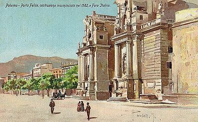 Postcard  Italy Palermo