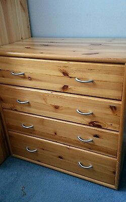Flexa solid pine chest of drawers