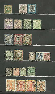 Persien, Persia, o/used Lot ca. 1870 - 1894, 2 Scans !