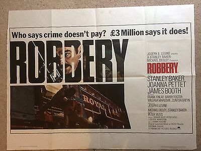 Robbery Quad Poster Baker Train