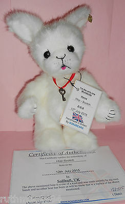 ROBSBEARS HOP-SCOTCH Bunny Rabbit ~ OOAK Artist Bear ~ Hand Made (UK) Cert & Tag