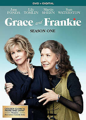 Grace  Frankie: Season 1 (DVD, 2016, 3-Disc Set) NEW!!!FREE FIRST CLASS SHIPPING