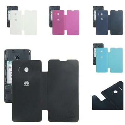 Cover Folds Case Flap Crosswise for Cell Phone Huawei Ascend Y300