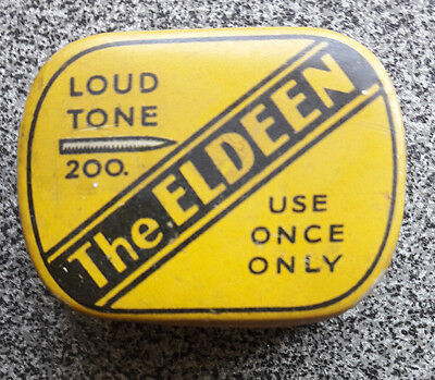 THE ELDEEN gramophone needle tin