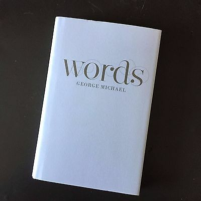 Extremely rare GEORGE MICHAEL official lyric book WORDS / hardback