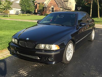 2000 BMW M5 Sedan - 4 Door 2000 BMW M5 (E39), Carbon Black,  6-Speed Manual