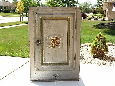 Antique Vintage Home Comfort Bread And Cake Cabinet Original 1900's Used