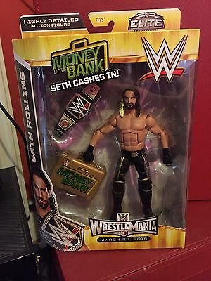 WWE Elite Seth Rollins Toys r Us Exclusive Action Figure