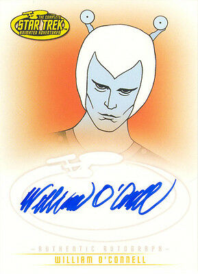 "Star Trek TOS Art & Images - A28 William O'Connell as ""Thelev"" Autograph Card"