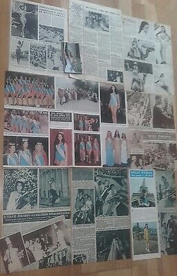 MISS EUROPE 50s / 00s Spanish Clippings / Cuttings