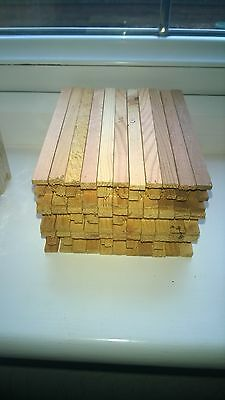 Thornes super side bars national smith wbc bee hive x 44