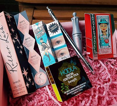 Benefit Beauty Box Limited Edition. Pore Control, Full sizes and Minis. NEW BOX