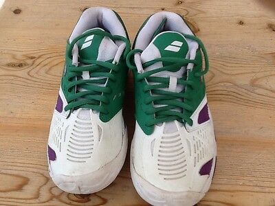 Babolat tennis trainers size 3.5