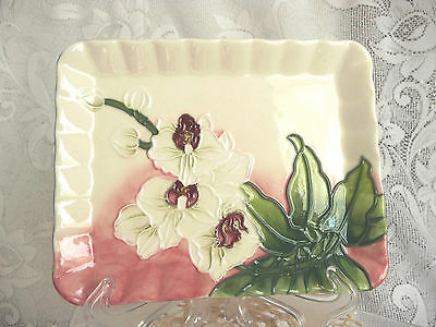 Old Tupton Ware Pin Tray Morning Orchid  Pattern TW6914