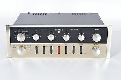 McIntosh C11 Vacuum Tube Preamplifier - Vintage Classic - 12AX7 - Made in USA