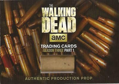Walking Dead Season 3 - SC-01 Shell Casing Prop Card