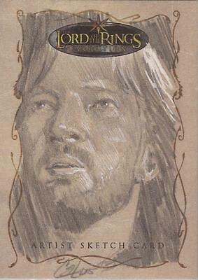 "Lord of the Rings Evolution - Cat Staggs ""Faramir"" Sketch Card"