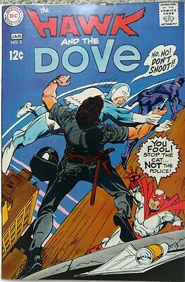 Hawk & Dove #3 Nm- 9.2 Dc 1/1969