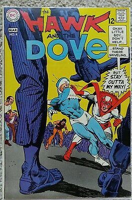 Hawk & Dove #4 Vf/nm 9.0 Dc 3/1969