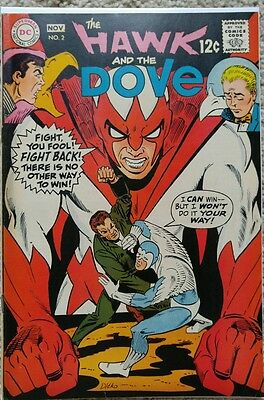 Hawk & Dove #2 Vf 8.0 Dc 11/1968