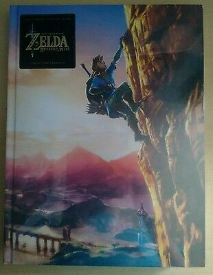 The Legend of Zelda Breath of the Wild Official Guide Collector's Edition