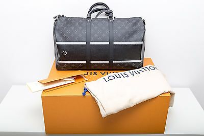 """Louis Vuitton """"Fragment Collection"""" Keepall 45 Monogram Eclipse LIMITED SOLD OUT"""