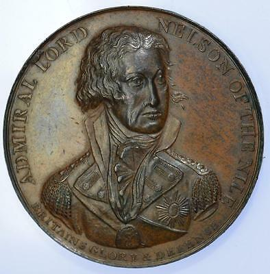 Napoleonic Wars - 1798 Nelsons Victory at the Battle of the Nile medal by Wyon