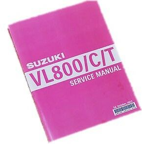 Suzuki VL800 C/T workshop service/repair Manual