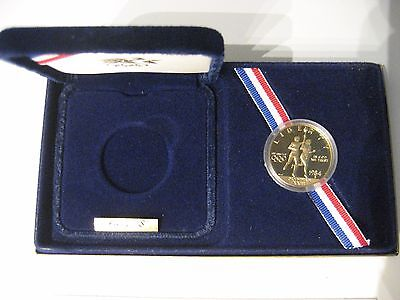 1984-S US Olympic $10 Gold Eagle Proof (Item 625-1)