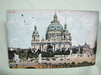Vintage Post Card   1906 Berlin Germany