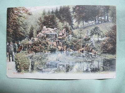 Vintage Post Card   1913 Wildbad Germany