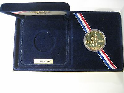 1984-D US Olympic $10 Gold Eagle Proof (Item 99)