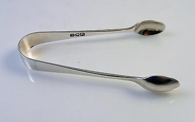 Antique Solid Silver Small Sugar Tongs - Hallmarked London 1913