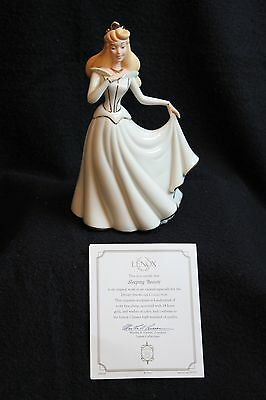 LENOX SLEEPING BEAUTY - DISNEY SHOWCASE #1968 - with COA but no box