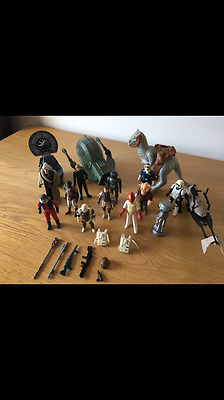 JOBLOT Vintage Star Wars Figures, Vehicles and Weapons