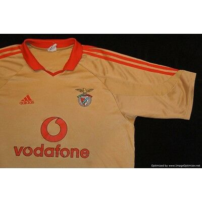 Benfica ADIDAS 2004-2005 Away Third Football Shirt X-Large