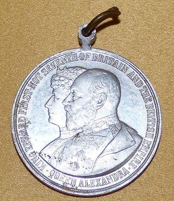 King Edward 1St Of Scotland Edward 7Th Commemorative Medal 1902