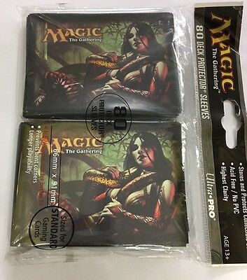 MTG Dark Ascension Deadly Allure Standard Size 80 Deck Protector Sleeves