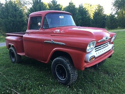 1958 Chevrolet Other Pickups Apache 1958 apache chevy truck
