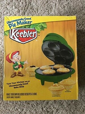 Keebler Uncommonly Good Electric Mini Pie Maker New In The Original Box