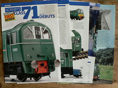 Hornby's SR Class 71 model review and prototype - Hornby magazine article