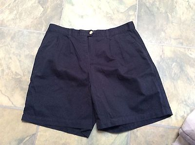 Tommy Hilfiger ladies navy shorts size 16