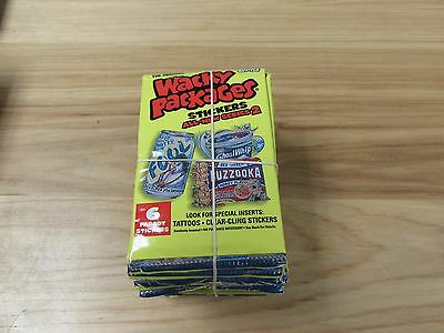 New: 2005 Topps Wacky Packages 36 Packs W/6 cards per pack ~Free Shipping~