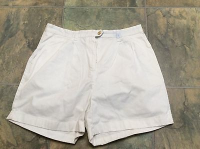 Tommy Hilfiger ladies white shorts size 16