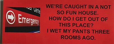 We're Caught In A Not So Fun House. How Do I Get Out Of This Place? ......