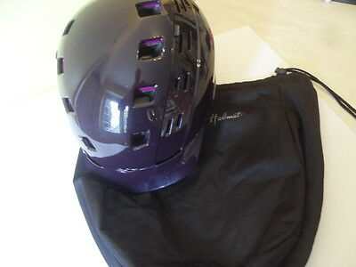 Smith Xtreme Ski / snowboarding Helmet, Colour Plum, Size M 55-59cm & bag