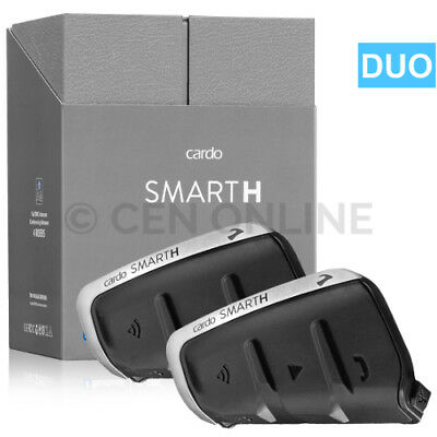 Cardo Scala Rider SmartH DUO Motorcycle Bike Bluetooth Headsets for HJC Helmets